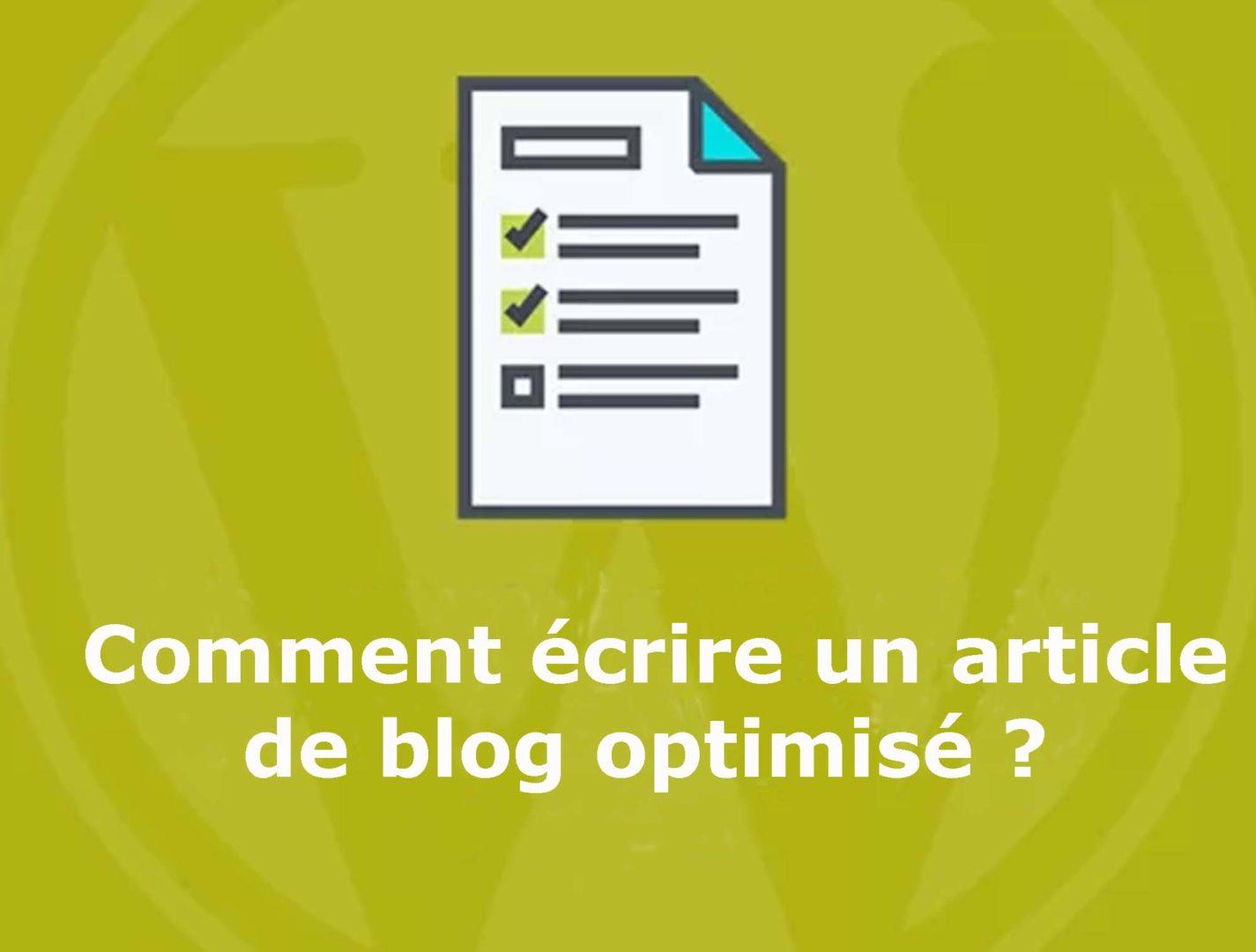 écrire-un-article-de-blog