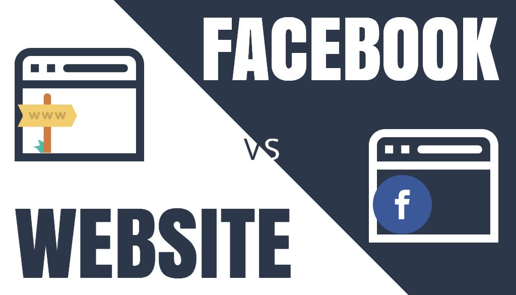 Facebook-Website
